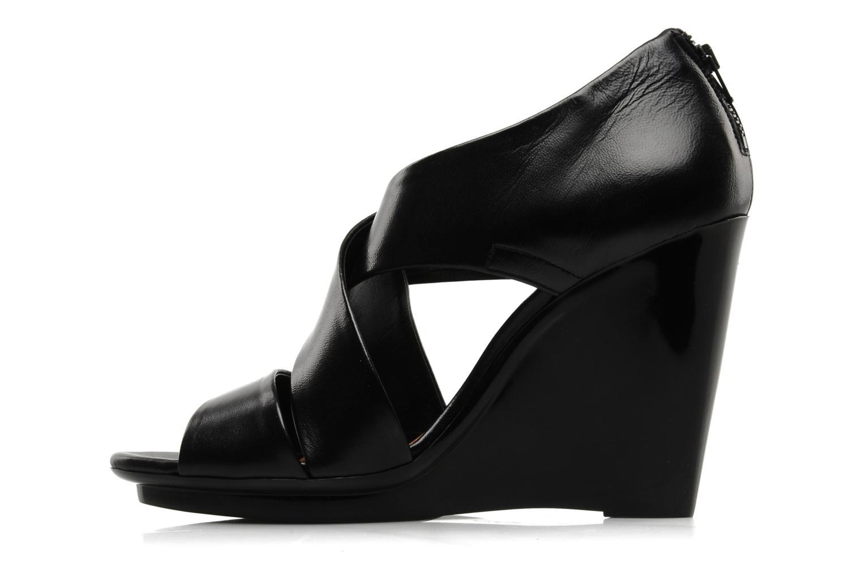 Sandali e scarpe aperte Clergerie Javor Nero immagine frontale