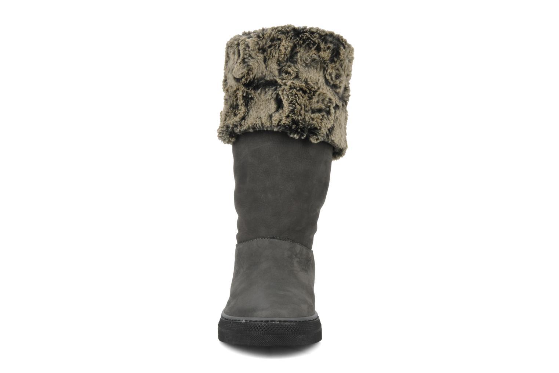 Bottines et boots Eden Blimer Gris vue portées chaussures