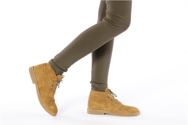 Stiefeletten & Boots Eden Blanca braun ansicht von unten / tasche getragen