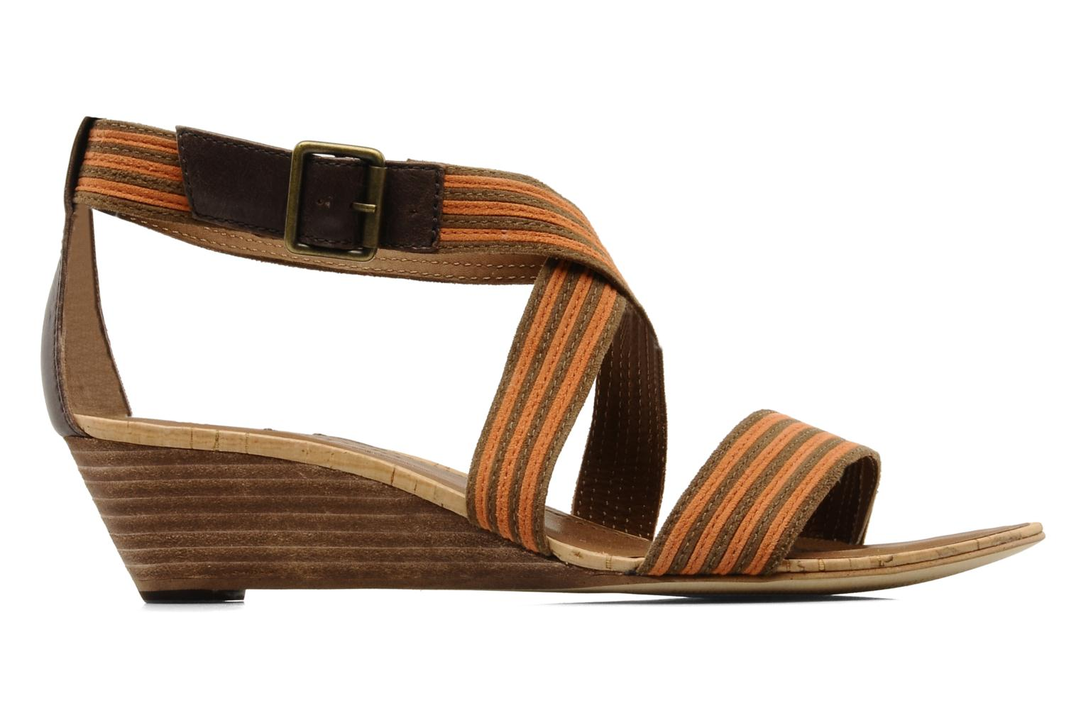 Sandals Marc O'Polo Kella Brown back view