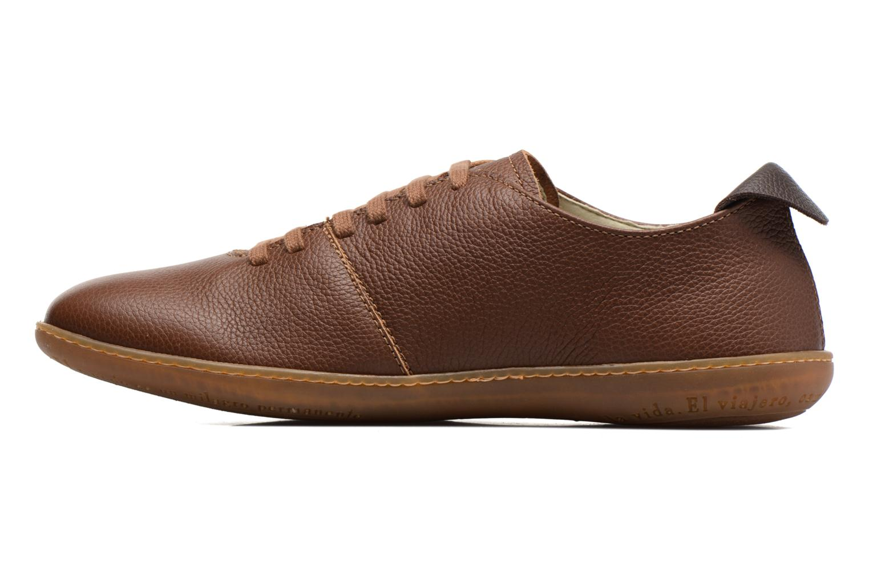 Chaussures à lacets El Naturalista El Viajero N296 M Marron vue face