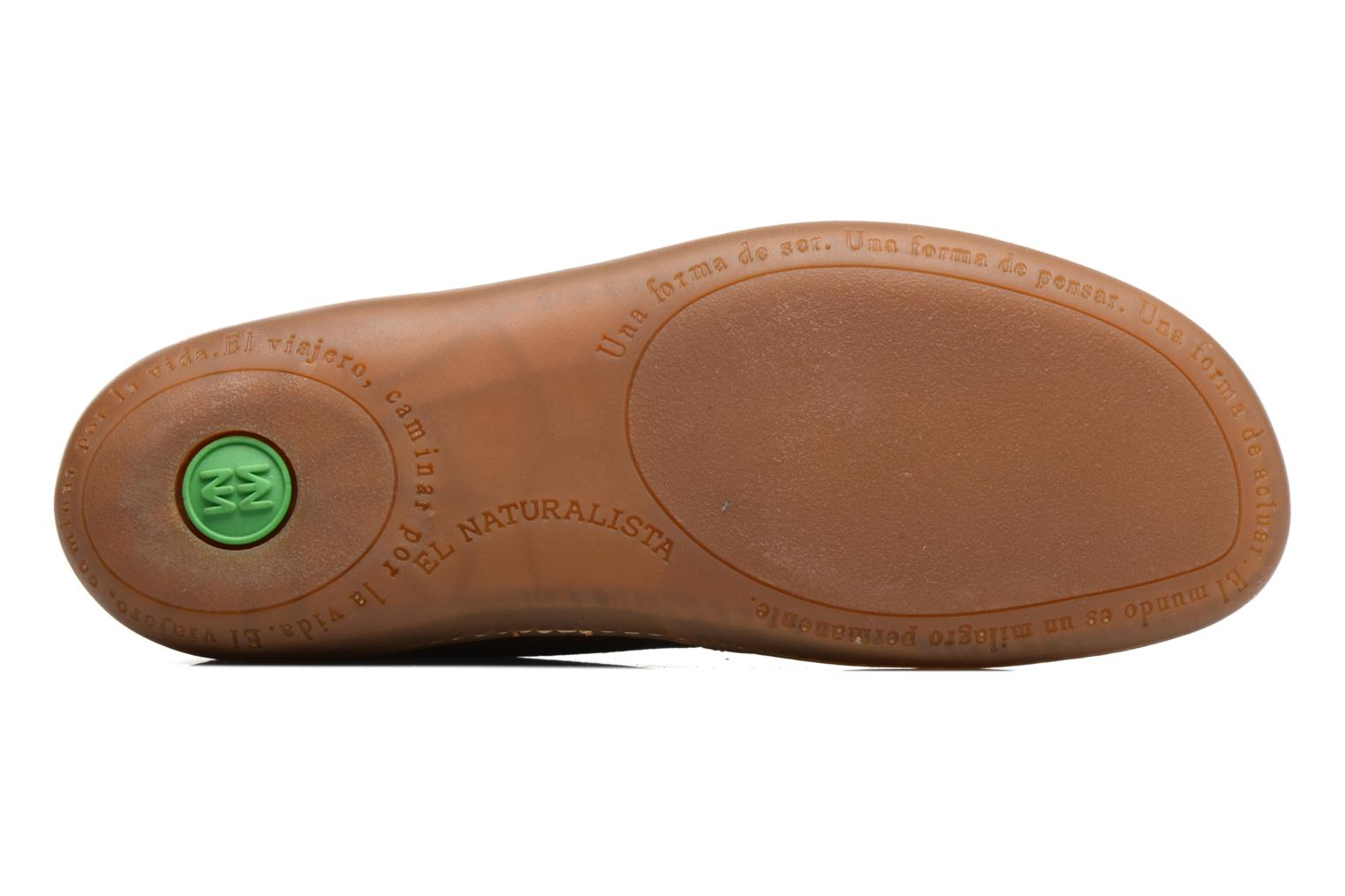 Lace-up shoes El Naturalista El Viajero N296 M Brown view from above