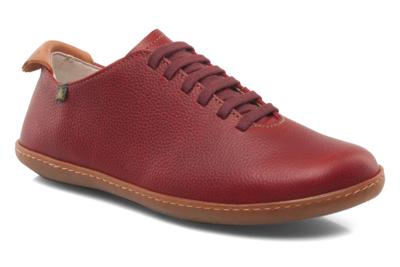 Chaussures à lacets El Naturalista El Viajero N296 W Bordeaux vue détail/paire