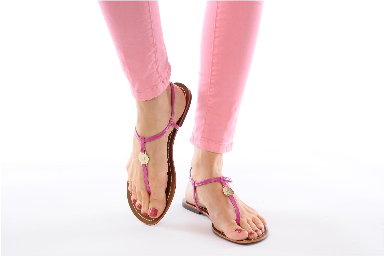 Sandales et nu-pieds Lauren by Ralph Lauren Aimon Violet vue bas / vue portée sac