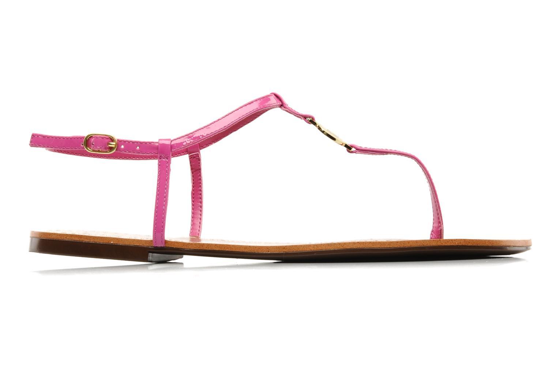 Sandales et nu-pieds Lauren by Ralph Lauren Aimon Violet vue derrière