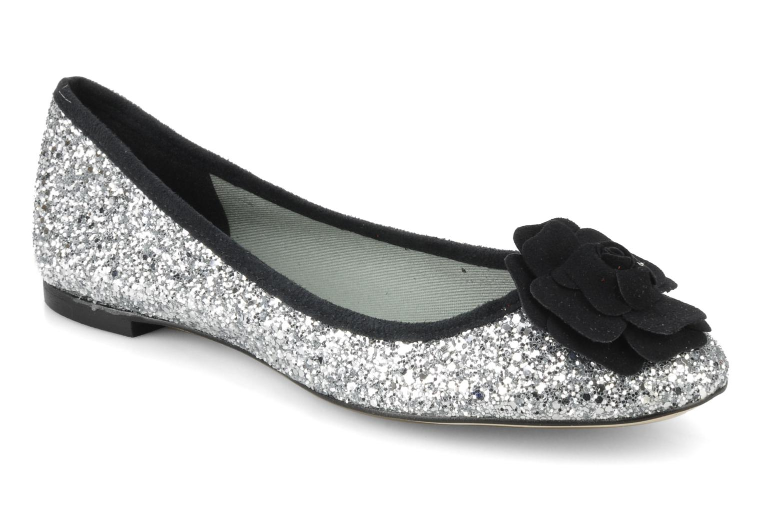 Ballet pumps Beyond Skin FLEUR Silver detailed view/ Pair view
