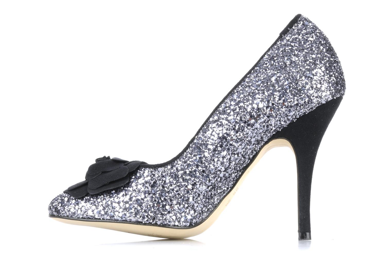 High heels Beyond Skin SWEETIE Silver front view