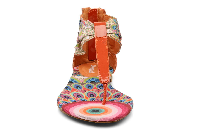 Sandales et nu-pieds Desigual Aolani Orange vue portées chaussures