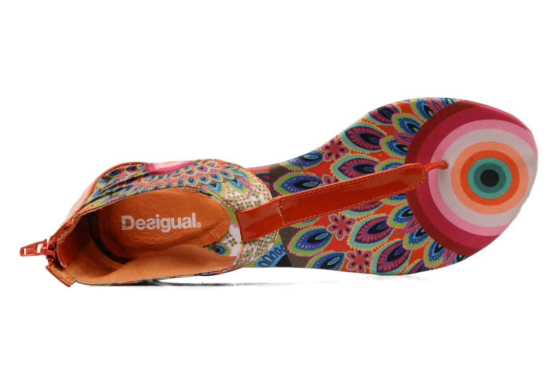 Sandales et nu-pieds Desigual Aolani Orange vue gauche