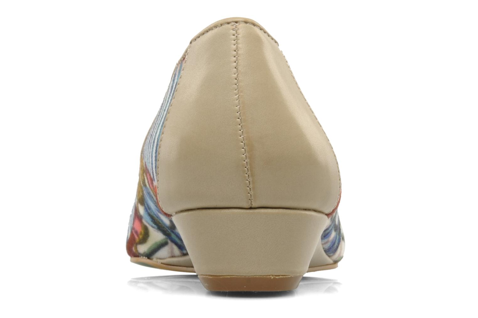 Ballet pumps Desigual Kailani Blue view from the right