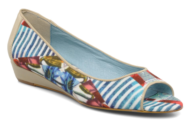 Ballerinaer Desigual Kailani Blå detaljeret billede af skoene