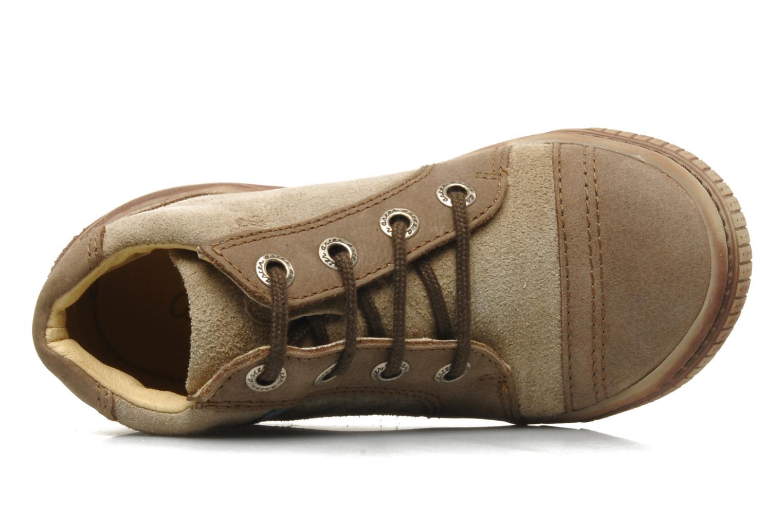 Boots en enkellaarsjes Aster HADDOCK Bruin links