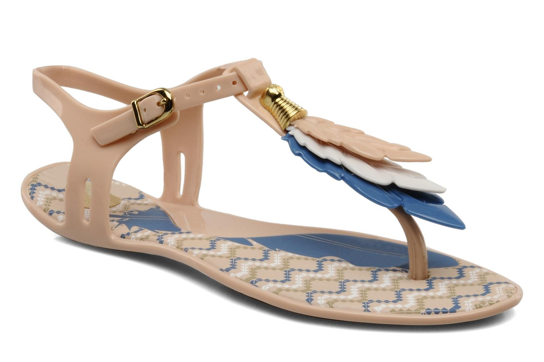 Sandals Melissa Melissa Lua III Sp Ad Beige detailed view/ Pair view