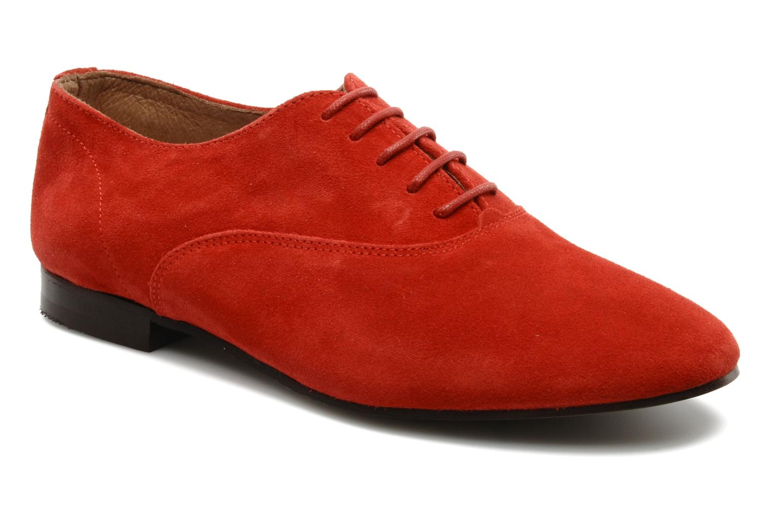 Sax Suede Red 503