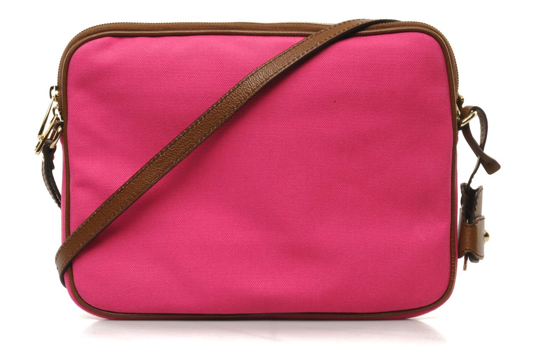 Clutch D&G ALYSSON CANVAS Roze voorkant