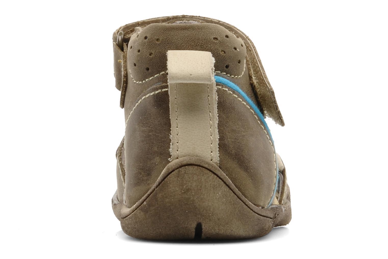 Sandales et nu-pieds Babybotte Tedi Marron vue droite