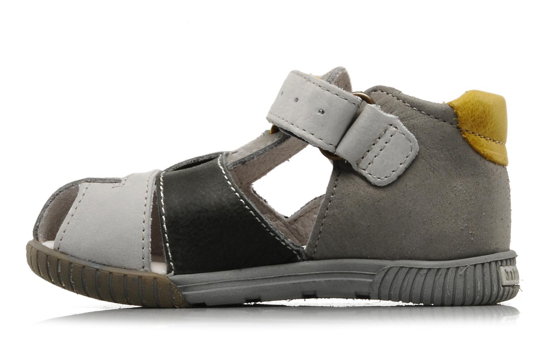 Sandales et nu-pieds Babybotte Tabarli Gris vue face