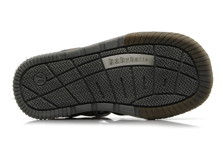 Sandales et nu-pieds Babybotte Tabarli Gris vue haut