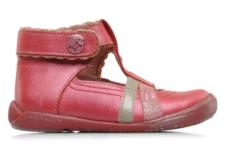 Summer boots Babybotte Sibel Red back view