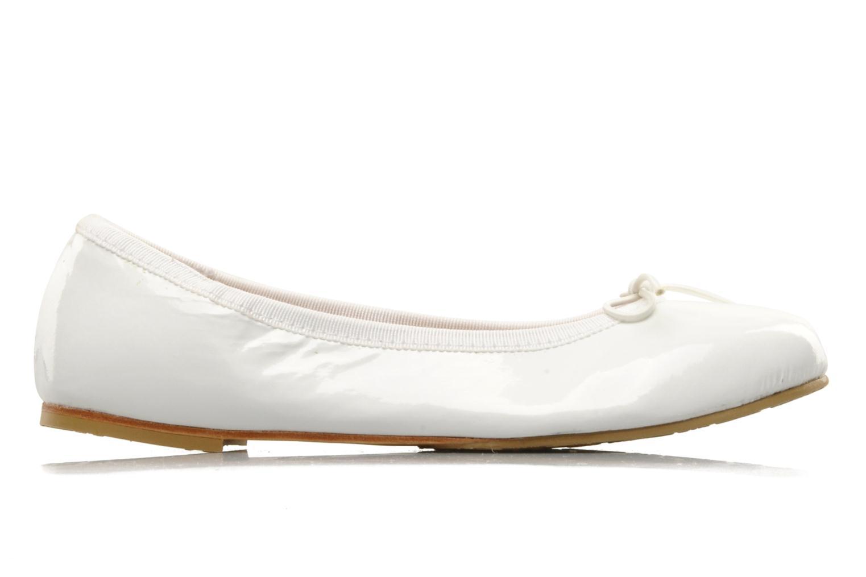 Ballerinaer Bloch Girls Chacha Hvid se bagfra
