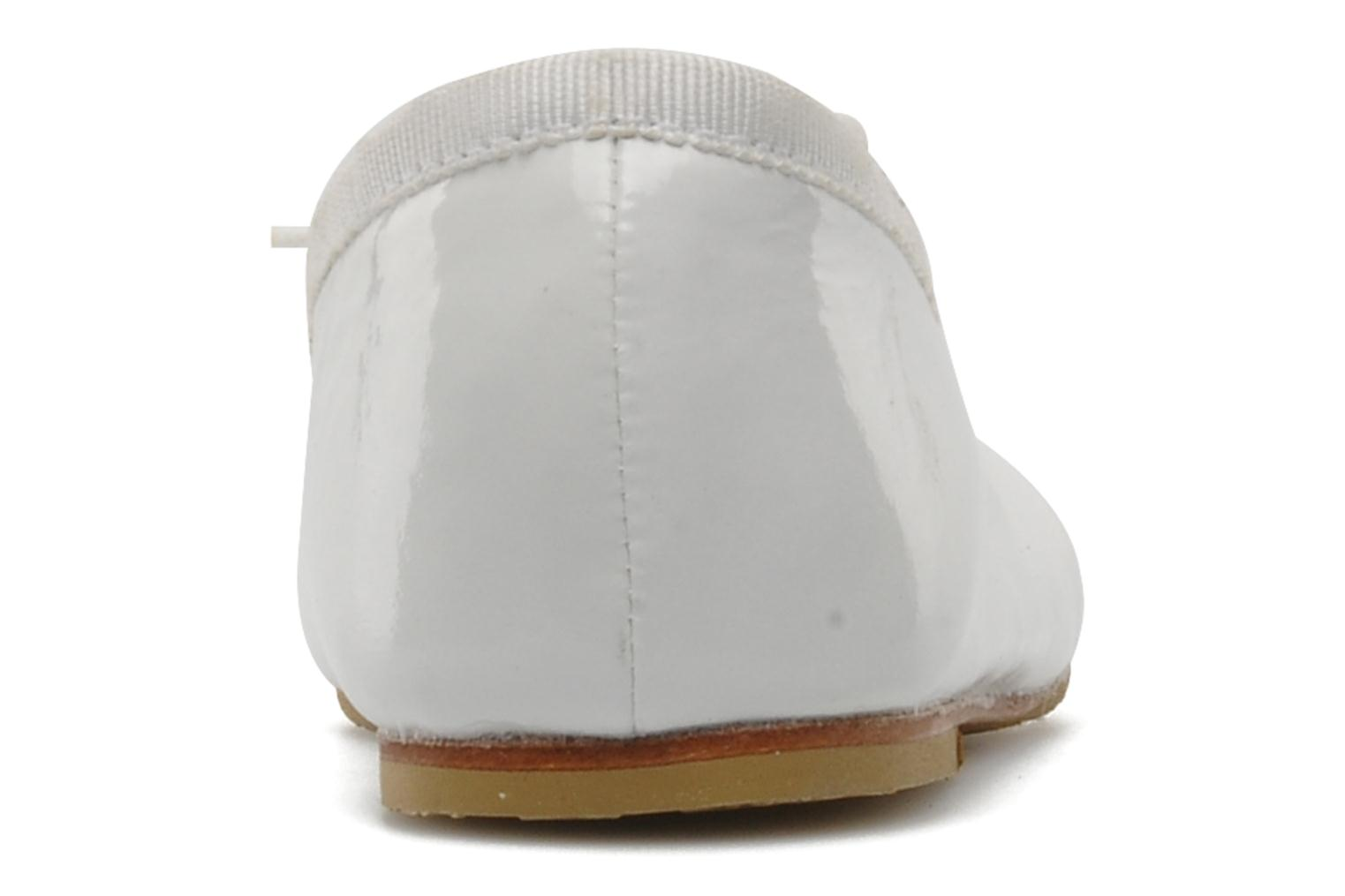 Ballet pumps Bloch Toddler Cha cha White view from the right