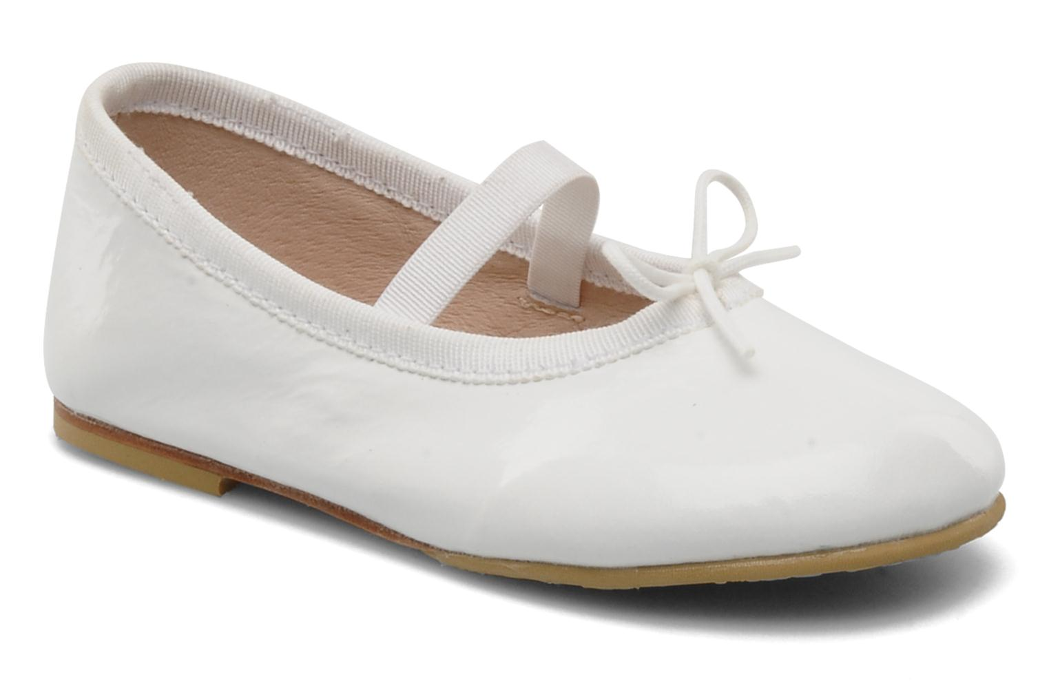 Ballet pumps Bloch Toddler Cha cha White detailed view/ Pair view