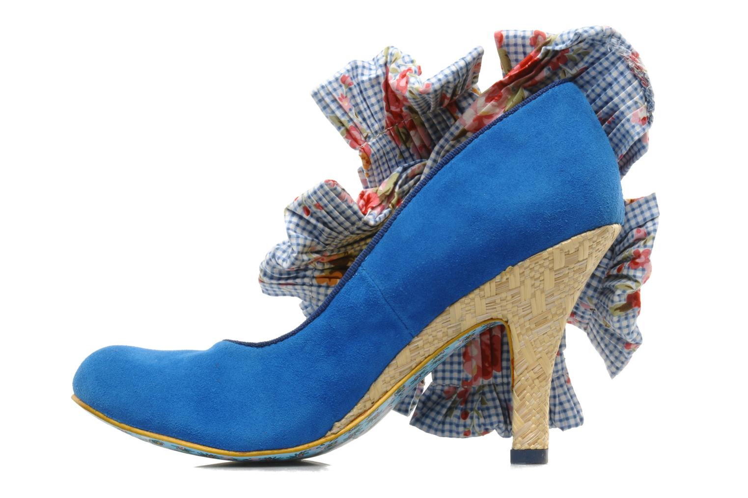Pumps Irregular Choice BURGER N FRIES Blauw voorkant