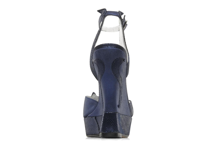 Sandales et nu-pieds Terry de Havilland Margaux Bleu vue droite