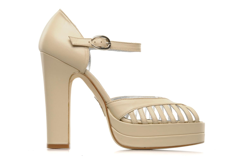 High heels Terry de Havilland Charlie Beige back view