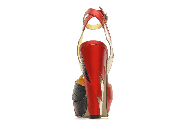 Sandales et nu-pieds Terry de Havilland Zia Multicolore vue droite