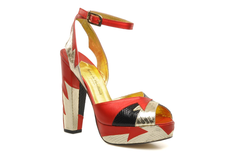 Sandales et nu-pieds Terry de Havilland Zia Multicolore vue détail/paire