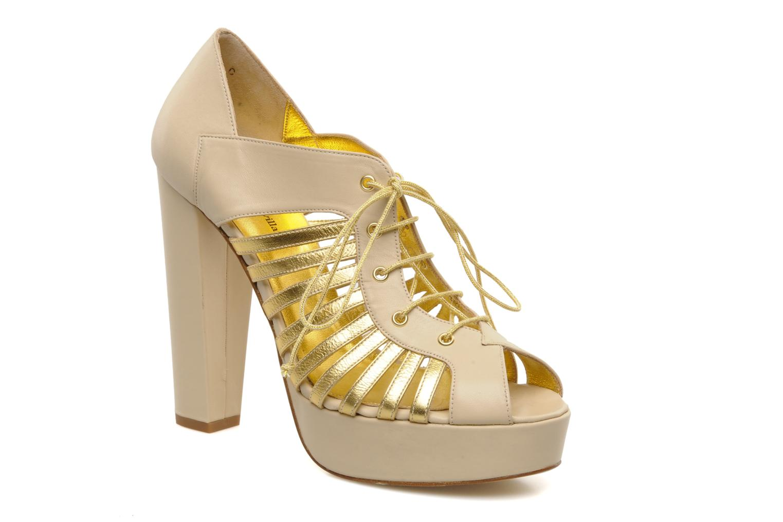 High heels Terry de Havilland Jessie Bronze and Gold detailed view/ Pair view