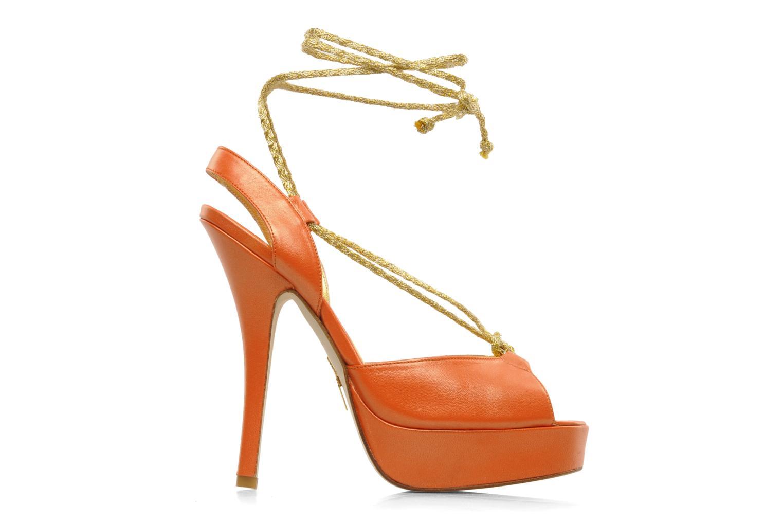 Sandales et nu-pieds Terry de Havilland Lisette Orange vue derrière