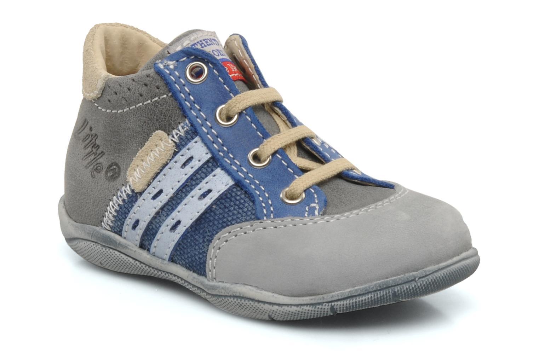 Ankelstøvler Little Mary Jeudi Blå detaljeret billede af skoene