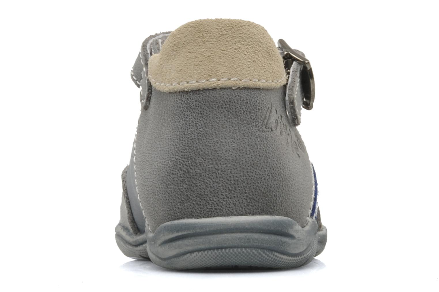 Summer boots Little Mary Jazz Grey view from the right