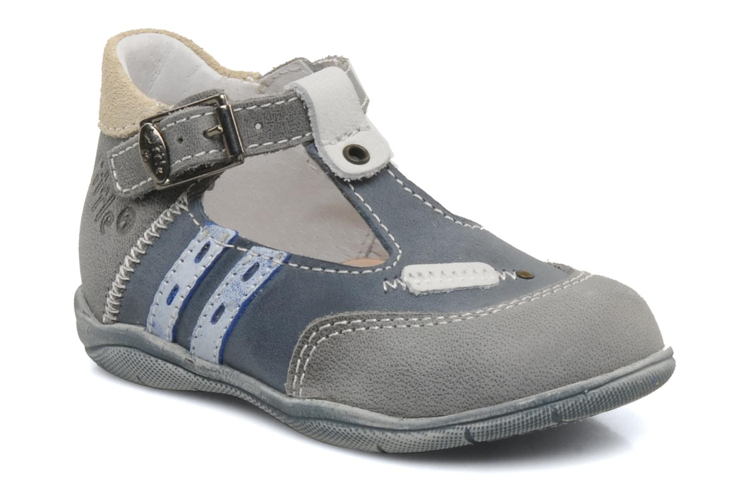 Summer boots Little Mary Jazz Grey detailed view/ Pair view