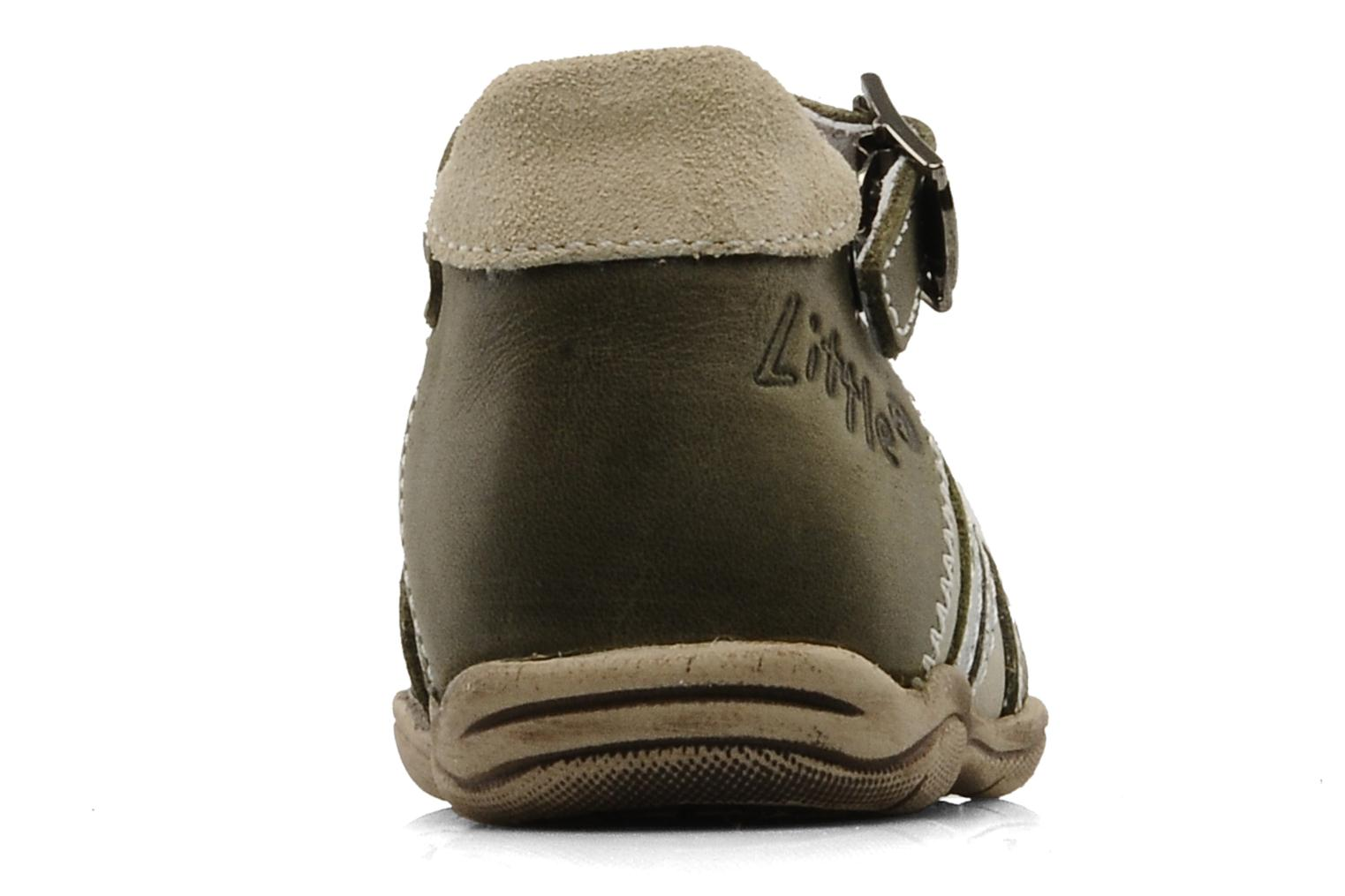 Summer boots Little Mary Jazz Green view from the right