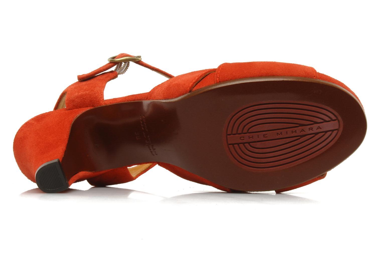 Sandali e scarpe aperte Chie Mihara Xoni Arancione immagine dall'alto