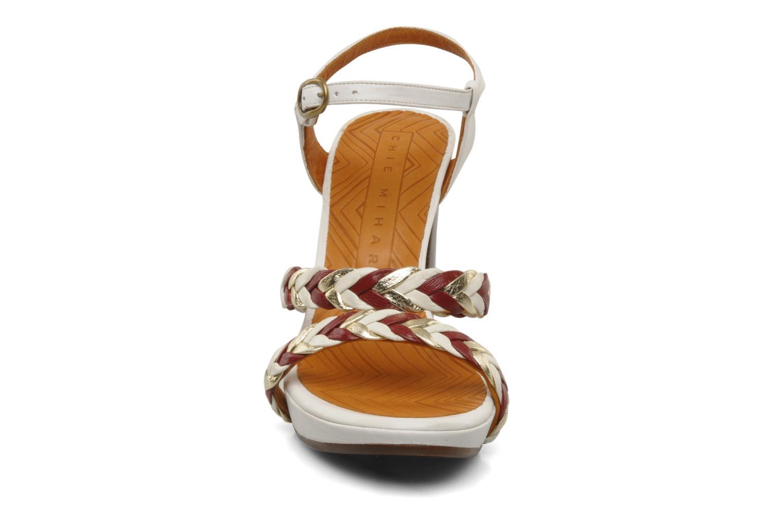 Sandalen Chie Mihara Recife weiß schuhe getragen