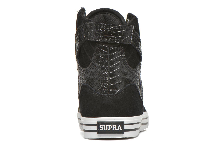Baskets Supra Skytop Noir vue droite