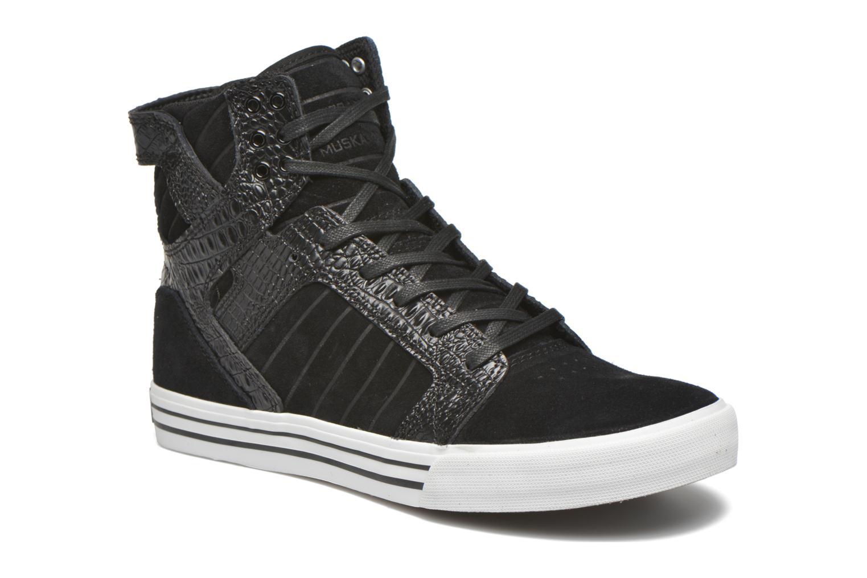 Sneakers Supra Skytop Zwart detail