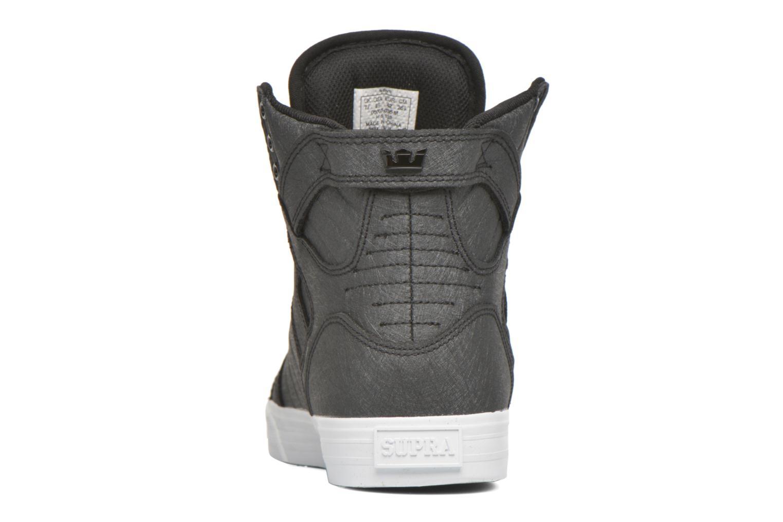 Sneaker Supra Skytop schwarz ansicht von rechts