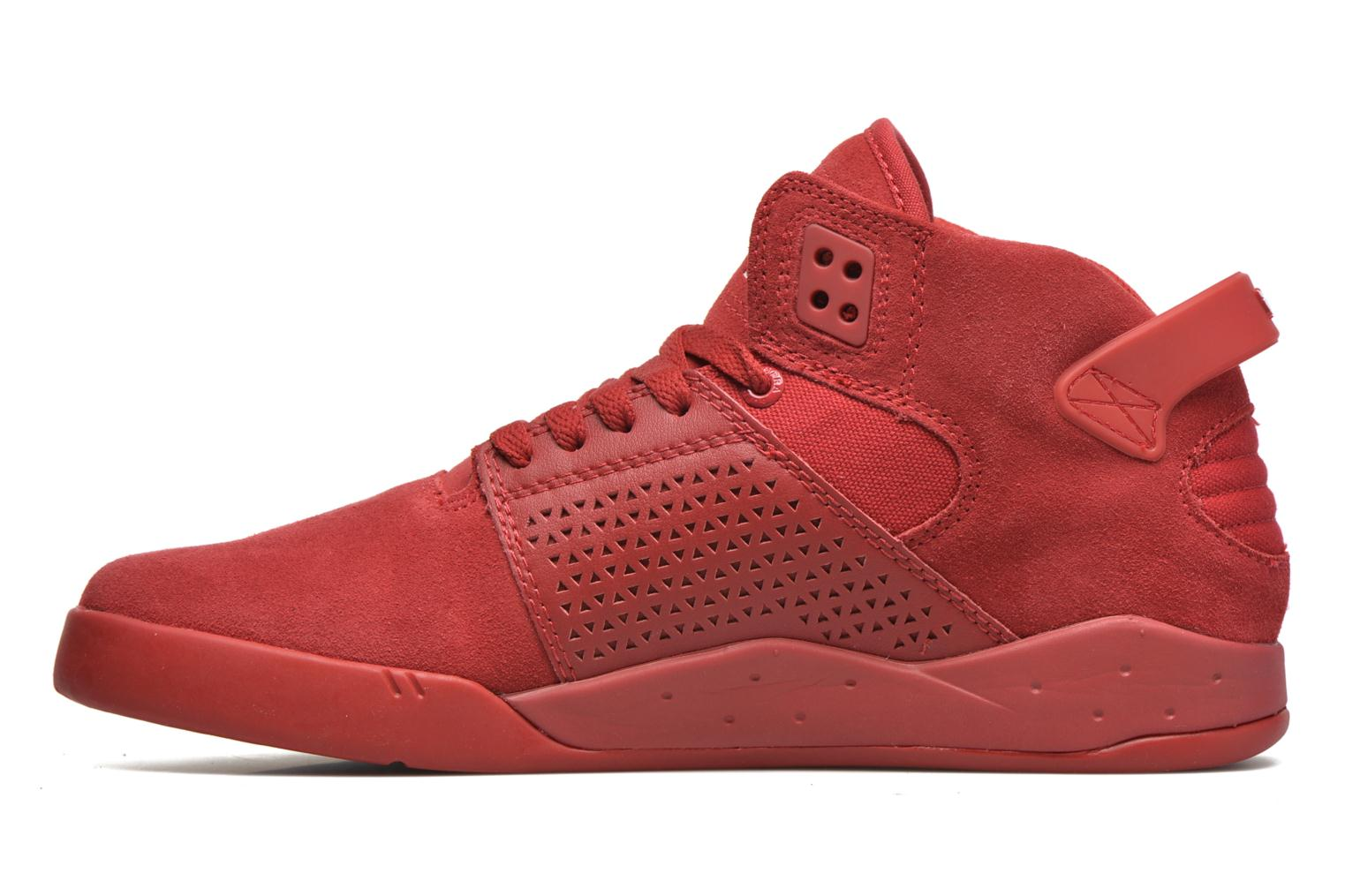 Sport shoes Supra Skytop III Red front view