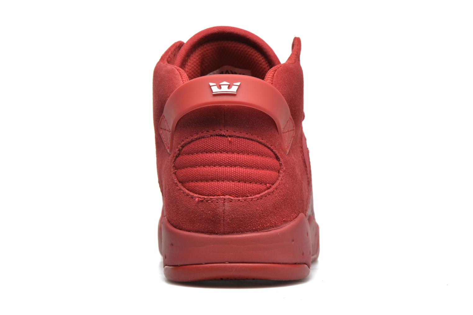 Sport shoes Supra Skytop III Red view from the right