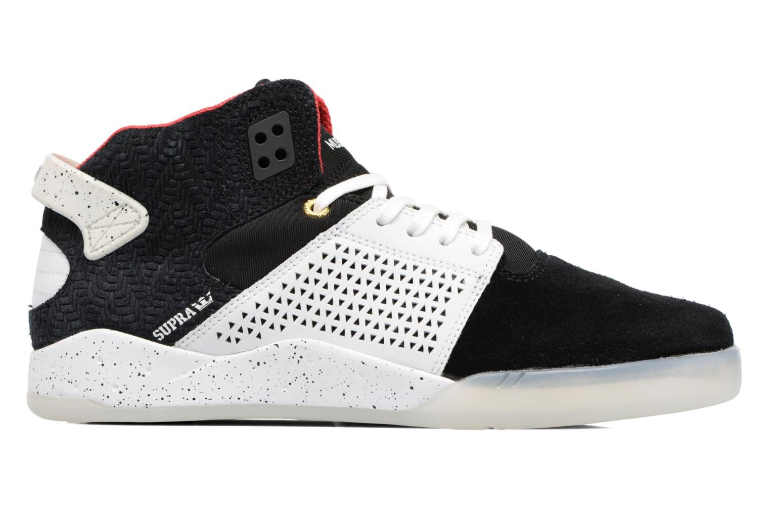 Sport shoes Supra Skytop III Black back view