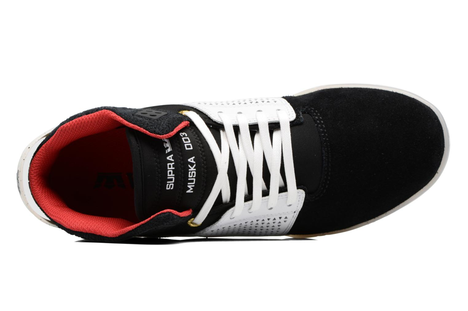 Sport shoes Supra Skytop III Black view from the left