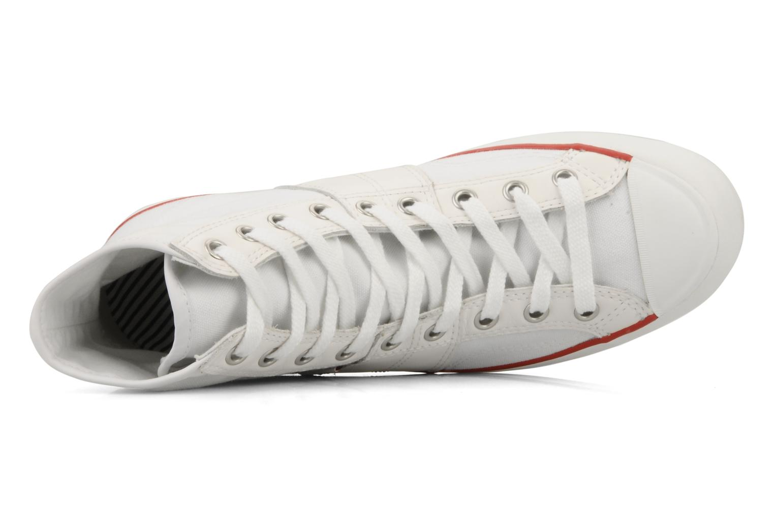 Sneakers Converse Chuch Taylor lady Canvas Hi Bianco immagine sinistra