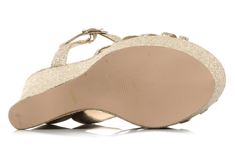 Sandales et nu-pieds Carvela GLOWORM Beige vue haut