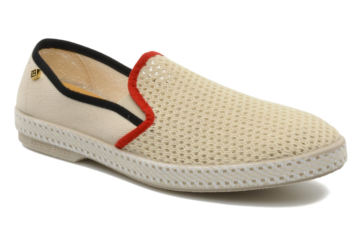Espadrilles Rivieras Hot Rod Beige detailed view/ Pair view