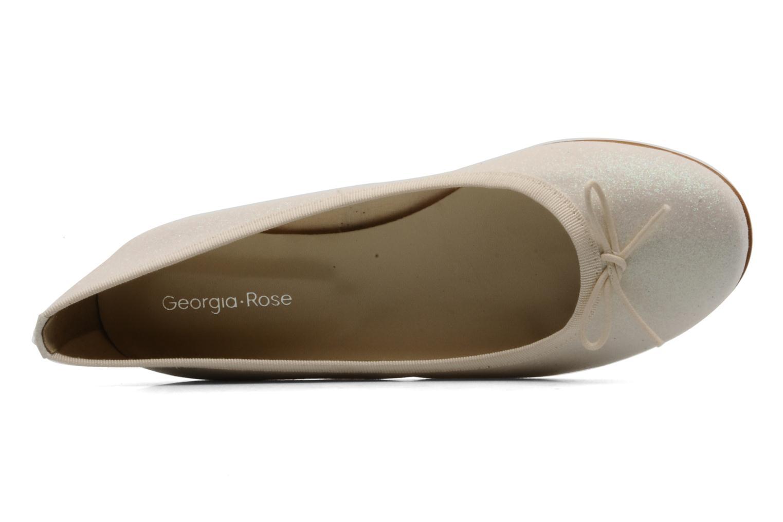 Ballerinas Georgia Rose Garbo beige ansicht von links